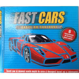 Fast Cars - Carte cu șabloane