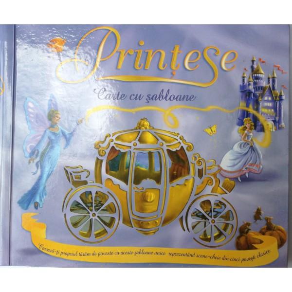 Prințesele – carte cu șabloane