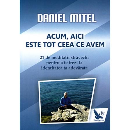Acum, Aici este Tot Ceea ce Avem • 21 de meditaţii străvechi pentru a te trezi la identitatea ta adevărată - Daniel Mitel