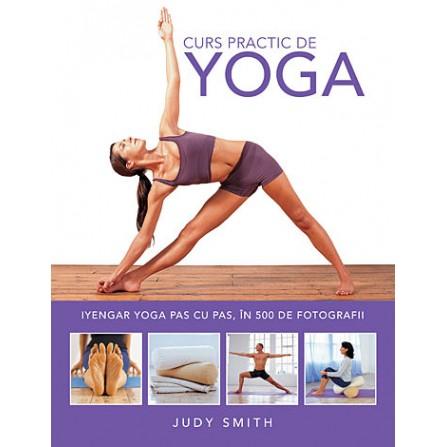 Curs Practic de Yoga • Iyengar yoga pas cu pas, în 500 de fotografii - Judy Smith