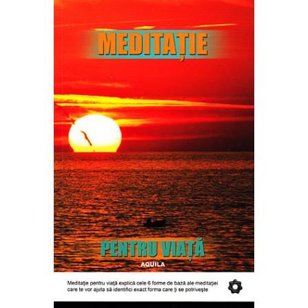 Meditație pentru Viață • un pas spre liniştea minţii e un pas care duce înspre cea mai bună direcţie – Robert Buttera