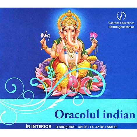 Oracolul Indian • prospectarea supranaturală în mod divin integrată a ceea ce urmează să se petreacă în existenţa noastră
