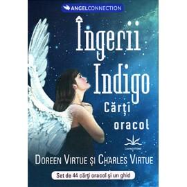 Tarotul cu Îngeri pentru Persoanele Indigo •  set de 44 de cărţi oracol şi un ghid de interpretare - Doreen Virtue, Charles Virtue
