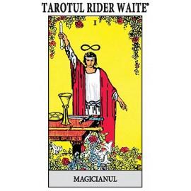 Tarotul Rider Waite  • include o broşură cu instrucţiuni şi setul complet de 78 de cărţi de joc - Arthur Edward Waite, Pamela Colman Smith